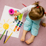 Children Hypnosis Training- kid painting